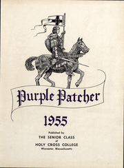 Page 4, 1955 Edition, College of the Holy Cross - Purple Patcher Yearbook (Worcester, MA) online yearbook collection