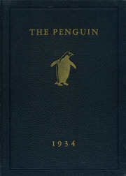 1934 Edition, Cushing Academy - Penguin Yearbook (Ashburnham, MA)