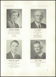 Page 13, 1948 Edition, Cushing Academy - Penguin Yearbook (Ashburnham, MA) online yearbook collection