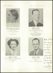 Page 15, 1948 Edition, Cushing Academy - Penguin Yearbook (Ashburnham, MA) online yearbook collection