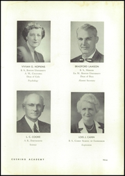 Page 13, 1955 Edition, Cushing Academy - Penguin Yearbook (Ashburnham, MA) online yearbook collection