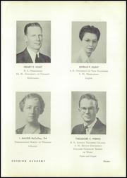 Page 15, 1955 Edition, Cushing Academy - Penguin Yearbook (Ashburnham, MA) online yearbook collection