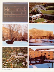 Page 12, 1988 Edition, Merrimack College - Merrimackan Yearbook (North Andover, MA) online yearbook collection