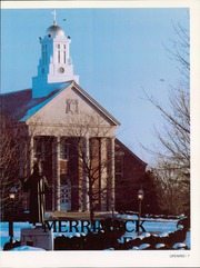 Page 5, 1988 Edition, Merrimack College - Merrimackan Yearbook (North Andover, MA) online yearbook collection