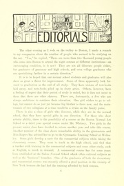 Page 12, 1911 Edition, Salem State University - Clipper Yearbook online yearbook collection