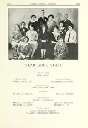 Page 11, 1926 Edition, Salem State University - Clipper Yearbook online yearbook collection