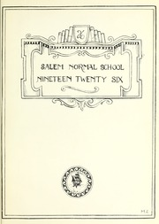 Page 5, 1926 Edition, Salem State University - Clipper Yearbook online yearbook collection