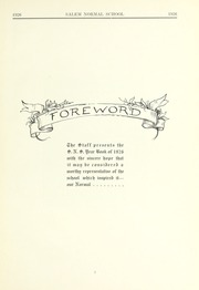 Page 7, 1926 Edition, Salem State University - Clipper Yearbook online yearbook collection