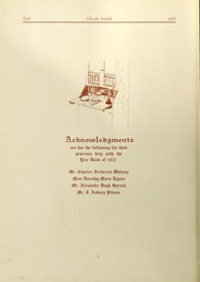 Page 10, 1927 Edition, Salem State University - Clipper Yearbook online yearbook collection