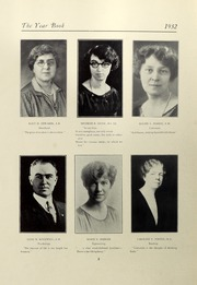 Page 12, 1932 Edition, Salem State University - Clipper Yearbook online yearbook collection