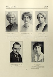 Page 14, 1932 Edition, Salem State University - Clipper Yearbook online yearbook collection