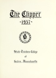 Page 9, 1937 Edition, Salem State University - Clipper Yearbook online yearbook collection
