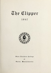 Page 5, 1947 Edition, Salem State University - Clipper Yearbook online yearbook collection