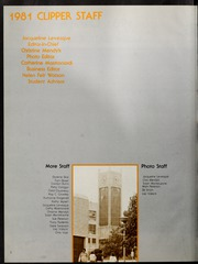 Page 6, 1981 Edition, Salem State University - Clipper Yearbook online yearbook collection