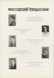 Page 14, 1930 Edition, Thayer Academy - Black and Orange Yearbook (Braintree, MA) online yearbook collection