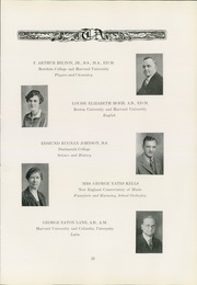 Page 15, 1930 Edition, Thayer Academy - Black and Orange Yearbook (Braintree, MA) online yearbook collection