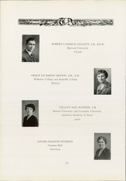 Page 16, 1930 Edition, Thayer Academy - Black and Orange Yearbook (Braintree, MA) online yearbook collection