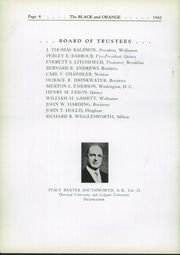 Page 12, 1942 Edition, Thayer Academy - Black and Orange Yearbook (Braintree, MA) online yearbook collection