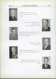Page 14, 1942 Edition, Thayer Academy - Black and Orange Yearbook (Braintree, MA) online yearbook collection