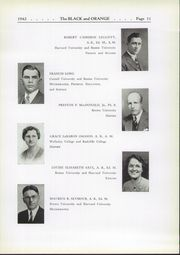 Page 15, 1942 Edition, Thayer Academy - Black and Orange Yearbook (Braintree, MA) online yearbook collection