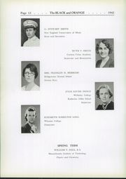 Page 16, 1942 Edition, Thayer Academy - Black and Orange Yearbook (Braintree, MA) online yearbook collection