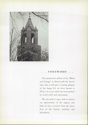 Page 9, 1942 Edition, Thayer Academy - Black and Orange Yearbook (Braintree, MA) online yearbook collection