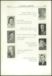 Page 14, 1948 Edition, Thayer Academy - Black and Orange Yearbook (Braintree, MA) online yearbook collection