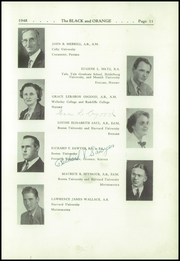 Page 15, 1948 Edition, Thayer Academy - Black and Orange Yearbook (Braintree, MA) online yearbook collection