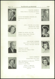 Page 16, 1948 Edition, Thayer Academy - Black and Orange Yearbook (Braintree, MA) online yearbook collection