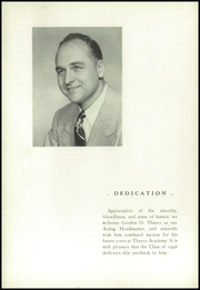 Page 8, 1948 Edition, Thayer Academy - Black and Orange Yearbook (Braintree, MA) online yearbook collection