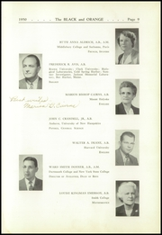 Page 13, 1950 Edition, Thayer Academy - Black and Orange Yearbook (Braintree, MA) online yearbook collection