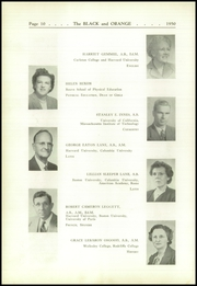 Page 14, 1950 Edition, Thayer Academy - Black and Orange Yearbook (Braintree, MA) online yearbook collection