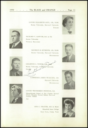 Page 15, 1950 Edition, Thayer Academy - Black and Orange Yearbook (Braintree, MA) online yearbook collection