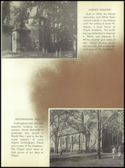 Page 11, 1957 Edition, Thayer Academy - Black and Orange Yearbook (Braintree, MA) online yearbook collection