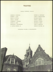 Page 15, 1957 Edition, Thayer Academy - Black and Orange Yearbook (Braintree, MA) online yearbook collection