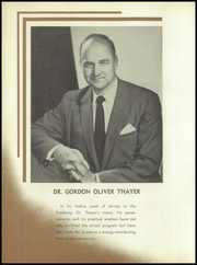 Page 16, 1957 Edition, Thayer Academy - Black and Orange Yearbook (Braintree, MA) online yearbook collection