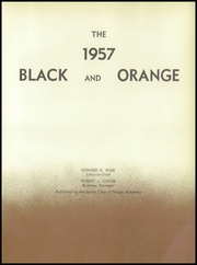 Page 7, 1957 Edition, Thayer Academy - Black and Orange Yearbook (Braintree, MA) online yearbook collection