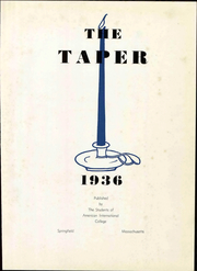 Page 9, 1936 Edition, American International College - Taper Yearbook (Springfield, MA) online yearbook collection