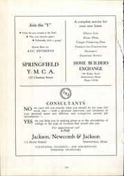 Page 138, 1946 Edition, American International College - Taper Yearbook (Springfield, MA) online yearbook collection