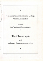 Page 139, 1946 Edition, American International College - Taper Yearbook (Springfield, MA) online yearbook collection