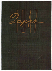 Page 1, 1947 Edition, American International College - Taper Yearbook (Springfield, MA) online yearbook collection