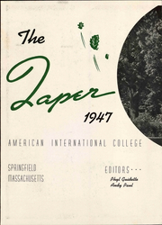 Page 8, 1947 Edition, American International College - Taper Yearbook (Springfield, MA) online yearbook collection