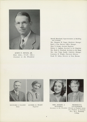 Page 10, 1950 Edition, American International College - Taper Yearbook (Springfield, MA) online yearbook collection