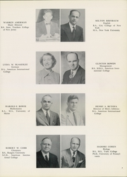 Page 11, 1950 Edition, American International College - Taper Yearbook (Springfield, MA) online yearbook collection