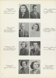 Page 12, 1950 Edition, American International College - Taper Yearbook (Springfield, MA) online yearbook collection