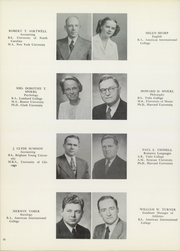 Page 16, 1950 Edition, American International College - Taper Yearbook (Springfield, MA) online yearbook collection