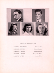 Page 8, 1944 Edition, Clark University - Pasticcio Yearbook (Worcester, MA) online yearbook collection