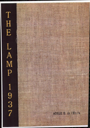 1937 Edition, Lasell College - Lamp Yearbook (Newton, MA)