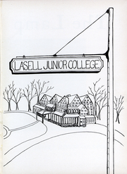 Page 3, 1950 Edition, Lasell College - Lamp Yearbook (Newton, MA) online yearbook collection