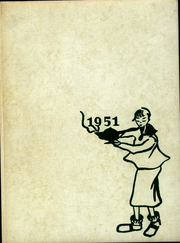 1951 Edition, Lasell College - Lamp Yearbook (Newton, MA)